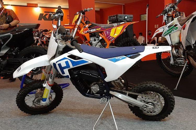 Motor trail listrik Husqvarna EE 5 dijual di IIMS 2021