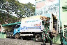 Lebaran, KKP Bagikan 1.500 Kg Ikan Kembung ke Korem 052