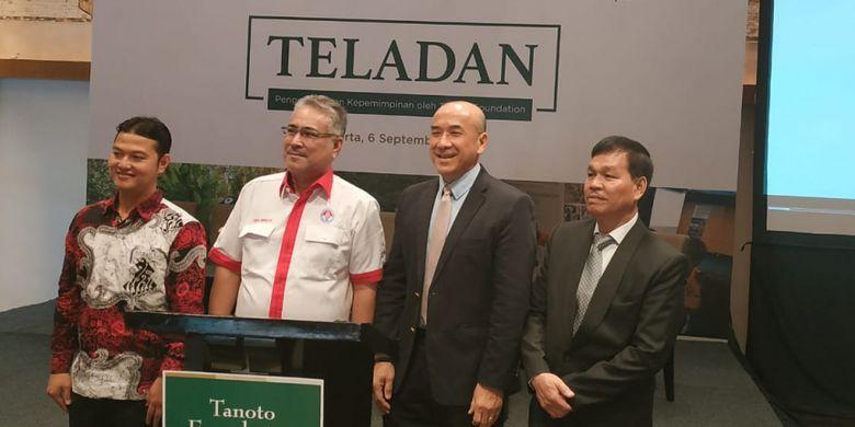 Peluncuran Program TELADAN dari Tanoto Foundation di Jakarta (6/9/2018)