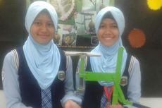 Siswi Madrasah Bikin Alat Inovatif untuk Belah Durian