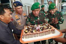 HUT ke-74 TNI, Kapolda Papua Beri Kejutan Pangdam XVII Cenderawasih