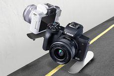 Kamera Mirrorless Canon EOS M50 Mark II Dijual Rp 10,5 Juta di Indonesia