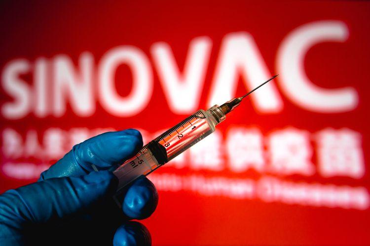 Ilustrasi vaksin Sinovac