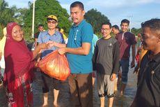 Bantuan Sembako Disalurkan ke Ribuan Korban Banjir di Rokan Hulu