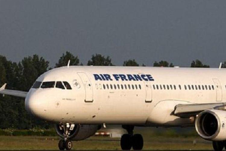 Salah satu pesawat milik maskapai penerbangan Air France.