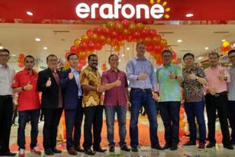 Pembukaan Erafone Megastore di Mall Margocity, Depok.