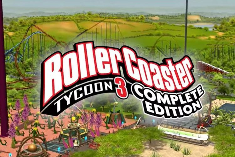 Rollercoaster Tycoon 3: Complete Edition.