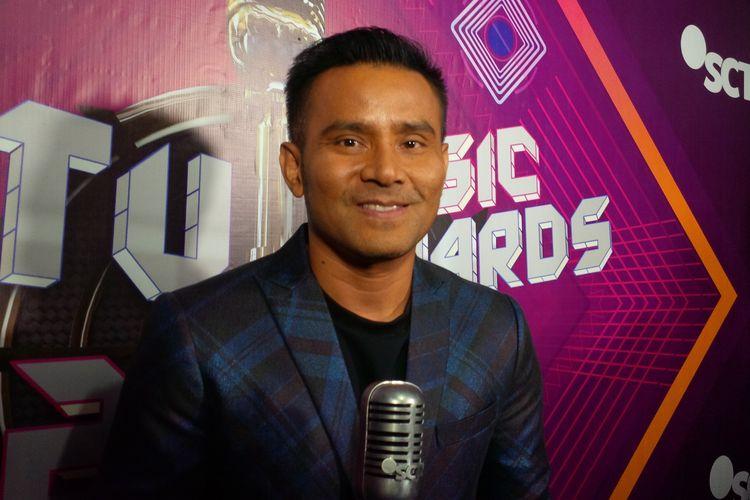 Judika menghadiri malam penganugerahan SCTV Music Awards 2019 di Studio 6 Emtek, Daan Mogot, Jakarta Barat, Jumat (26/4/2019).