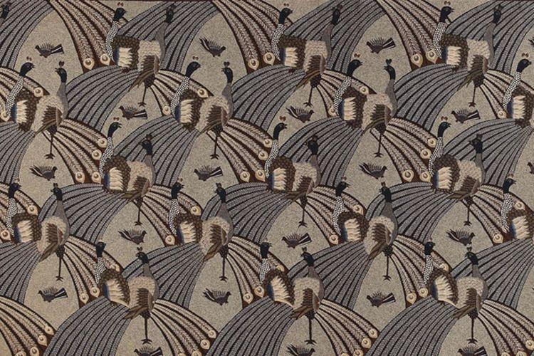 Salah satu koleksi kain batik milik Hartono Sumarsono