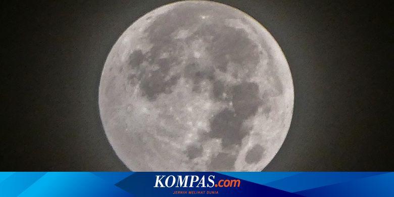 Video Viral Malam Ini Akan Ada Fenomena Bulan Purn
