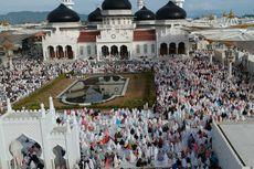 Rindu Shalat Id di Masjid Baiturrahman Aceh...