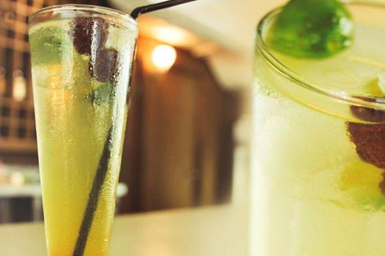 Minuman jeruk sonkit khas Kalimantan