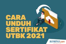 INFOGRAFIK: Cara Unduh Sertifikat UTBK 2021