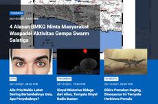 [POPULER SAINS] Alasan Aktivitas Gempa Swarm Salatiga Harus Diwaspadai | Sinyal Misterius di Luar Angkasa