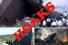 [HOAKS] 100 Anggota TNI Alami Kecelakaan Pesawat Hercules di Papua