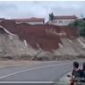 Penjelasan BNPB soal Video Viral Longsor di Jalan Raya Limbangan, Garut