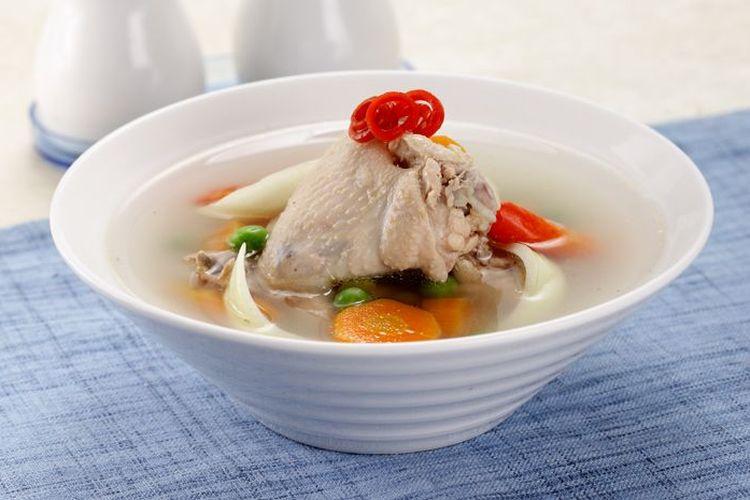 Resep Sop Ayam Jahe Bikin Tubuh Hangat Dan Segar