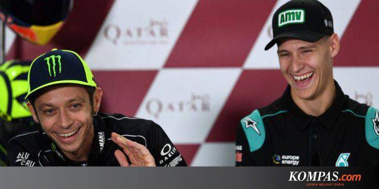 Rossi Tukar Posisi Dengan Quartararo Mulai 2021
