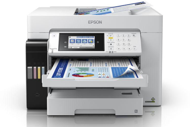 Incar Tiga Segmen Pasar Epson Luncurkan 8 Printer Baru Halaman All Kompas Com