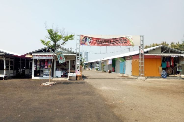 Pasar Jabon, Kavling 58, Meruya Utara, Kembangan, Jakarta Barat pada Senin (15/10/2018).