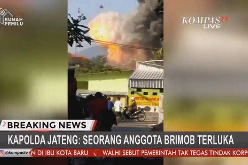 Ledakan di Mako Brimob Semarang, 1 Anggota Brimob Terluka