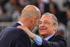 Real Madrid Vs Atletico Madrid, Perez Anggap Zidane Berkat dari Surga