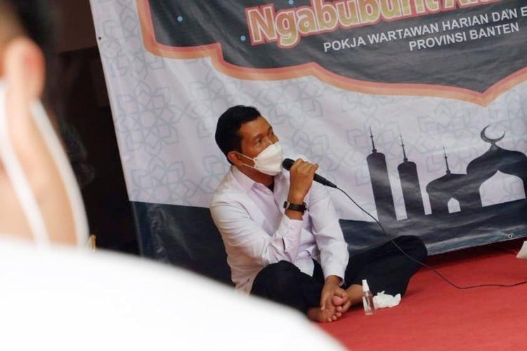 Kepala BKD Banten Komarudin akan memantau aktifitas pegawainya melalui GPS selama libur Lebaran