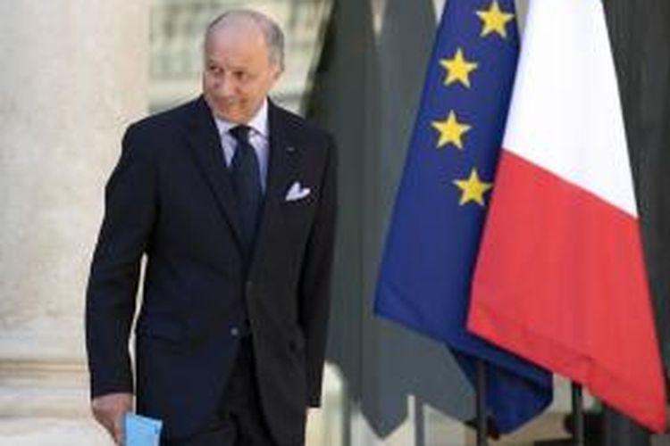 Menteri Luar Negeri Perancis, Laurent Fabius.