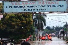 Banjir 3 Meter Lebih, Warga Perumahan Pondok Gede Permai Mulai Diungsikan