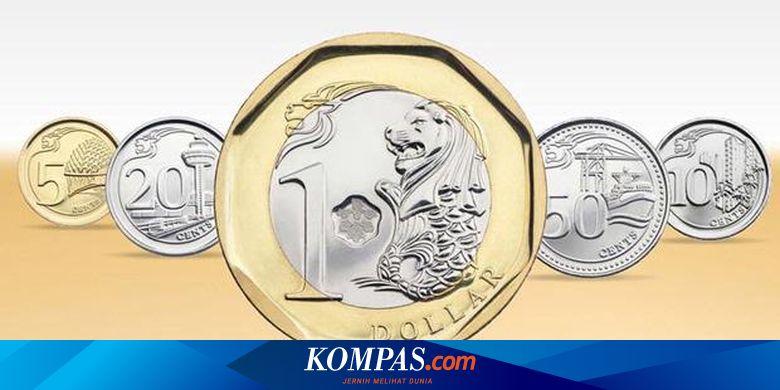 Gambar Uang Koin Singapura Singapura Gunakan Uang Logam Baru Pertengahan 2013