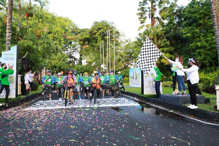 Bali Beach Bike diadakan oleh tiket.com dengan menggandeng Citilink Indonesia.