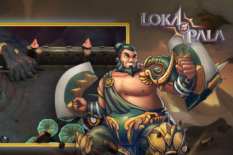 Ilustrasi game Lokapala.