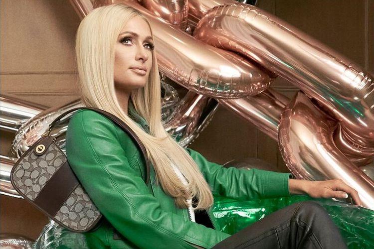 Paris Hilton bintangi iklan Coach