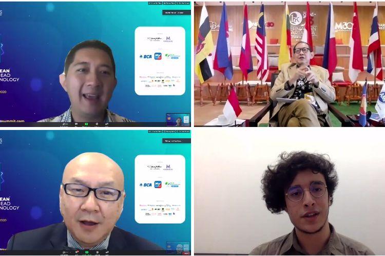 ASEAN Marketing Summit (AMS) 2020 yang digelar secara virtual dari Jakarta, Singapura, Seoul, dan California, Senin (9/11/2020). (Dok. MarkPlus, Inc)