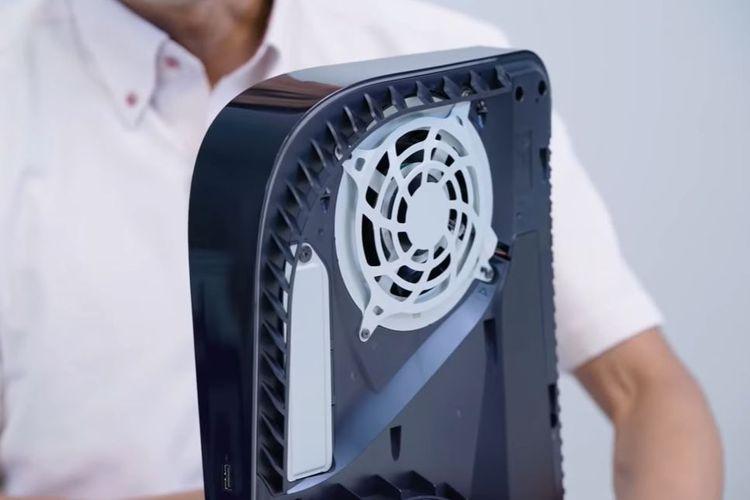 Ilustrasi kipas pendingin PS5.