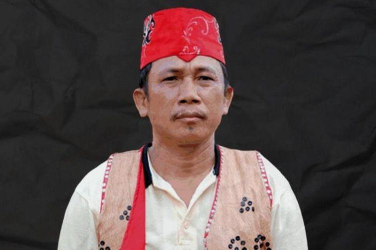 Effendi Buhing tokoh Masyarakat Adat Laman Kinipan.