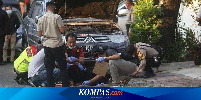Sebelum Ledakan di Menteng, Saksi Lihat Orang Lempar Bungkusan ke Arah Mobil