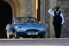 Jaguar Retro Pangeran Harry-Meghan Ternyata Berteknologi Modern