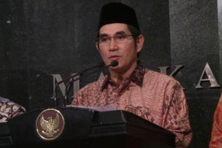 Ketua Mahkamah Konstitusi Hamdan Zoelva
