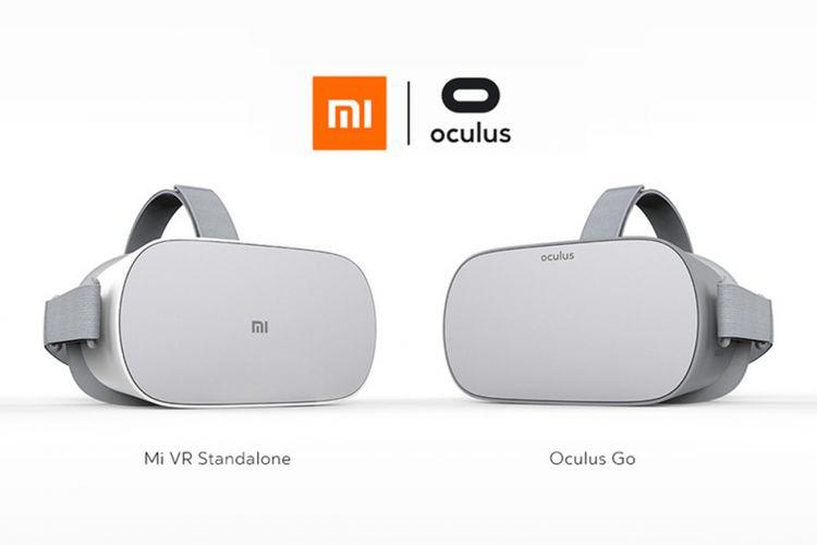 Headset Xiaomi Mi VR Standalone (kiri) dan Oculus Go ibarat pinang dibelah dua.