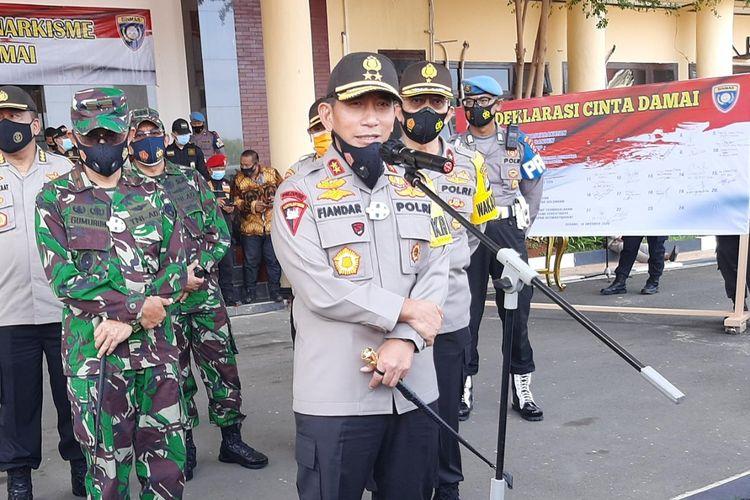 Kapolda Banten Irjen Pol Fiandar meminta masyarakat tetap dirumah saat libur panjang