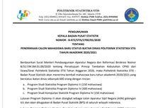 Dibuka 8 Juni, Simak Informasi Pendaftaran Sekolah Kedinasan Politeknik Statistika STIS
