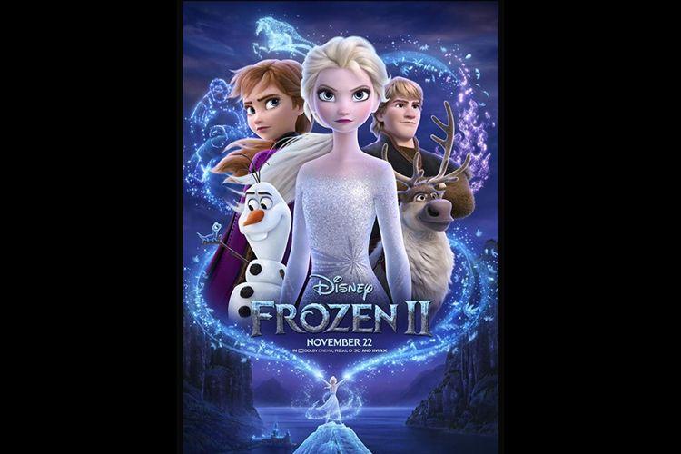Poster film Frozen II.