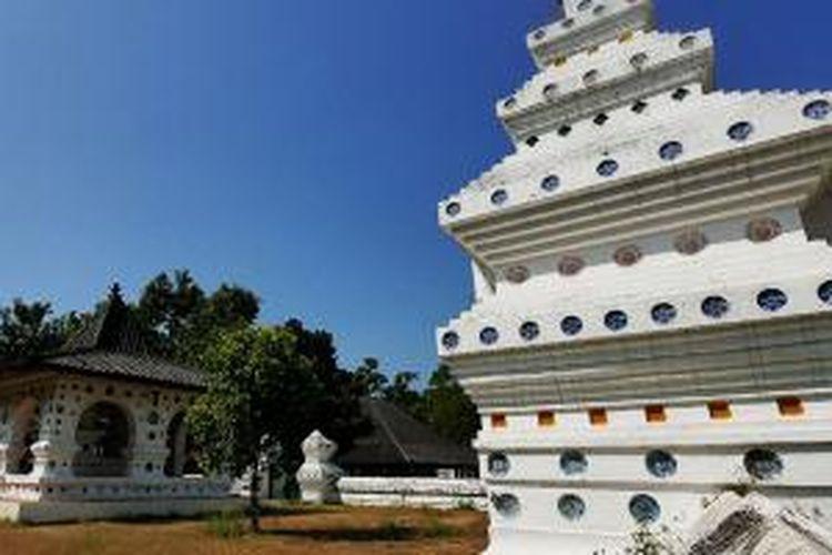 Keraton Kanoman di Cirebon, Jawa Barat.