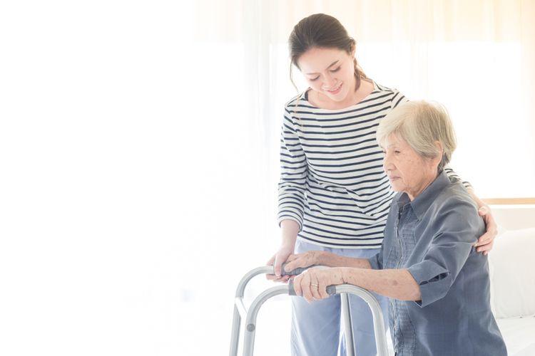 Pasien stroke sedang dalam masa pemulihan