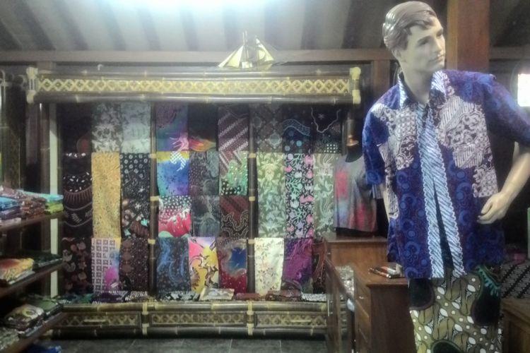 Galeri Sembung Batik di Desa Gulurejo, Kecamatan Lendah, Kulon Progo