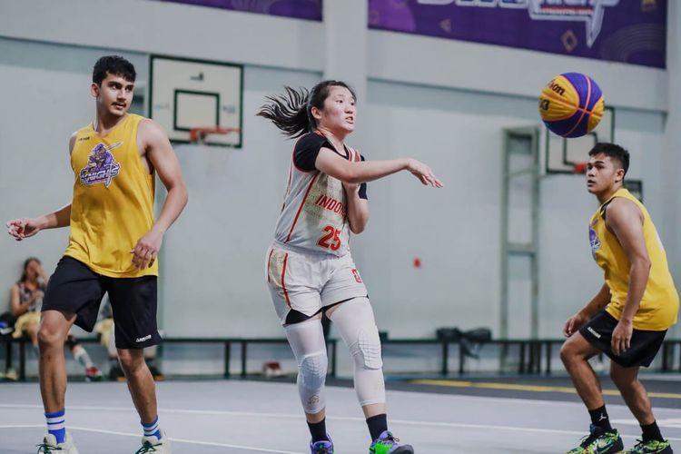 Persiapan Timnas Basket Putri 3x3 Indonesia jelang Kualifikasi Olimpiade Tokyo 2020 di di Graz, Austria.