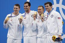 Olimpiade Tokyo 2020, Tim Renang AS Sabet Emas dan Pecahkan Rekor Dunia
