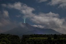 7 Fakta Viral Meteor Jatuh di Gunung Merapi, Tak Berkaitan dengan Gerhana Bulan Total