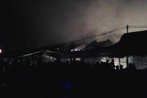 Seluruh Bangunan Pasar Babadan Ludes Terbakar